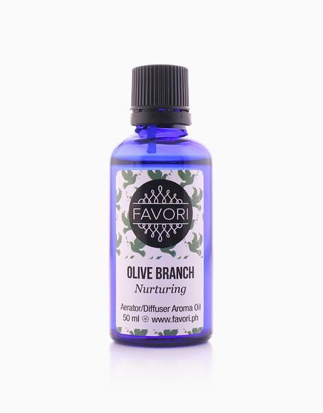 Olive Branch 50ml Aerator/Diffuser Aroma Oil by FAVORI