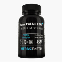 Saw Palmetto Complex 500mg (100 Capsules) by Herbs of the Earth