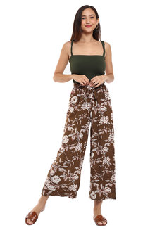 Audrey Printed Square Pants by Prim and Proper