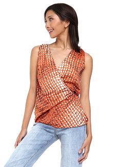 Madi Sleeveless Wrap Top by Loukha