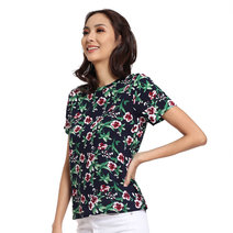 Floral Printed Top by Glamour Studio