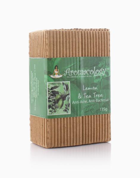 Lemon and Tea Tree Anti-Acne and Anti-Bacterial Bar by Aromacology Sensi