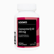Solimo coenzyme q 10 200 mg  90 softgels  three month supply