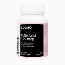Solimo folic acid 400 mcg  250 tablets  more than eight month supply