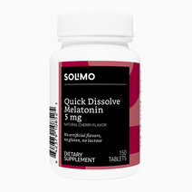 Solimo quick dissolve melatonin 5mg  cherry flavor  150 tablets