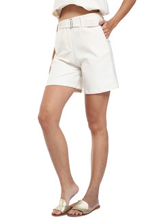 Bonnie High-waisted Shorts with Belt by Loukha