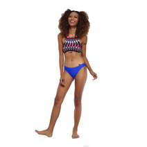 Carly Aztec Highneck Halter Bikini by Freestyle