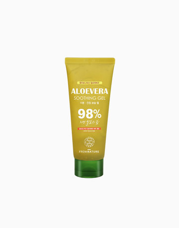 Aloe Vera 98% Soothing Gel Tube (150g) by FROMNATURE