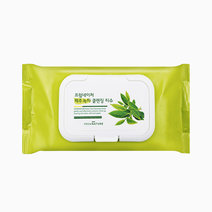Jeju Green Tea Cleansing Tissue by FROMNATURE