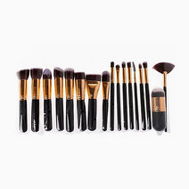 17pc Premium Makeup Brush Set by Brush Works
