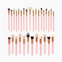 30pc Professional Makeup Brush Set by Brush Works