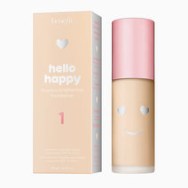 Benefit et hellohappy flawlessbrightening styled shade1