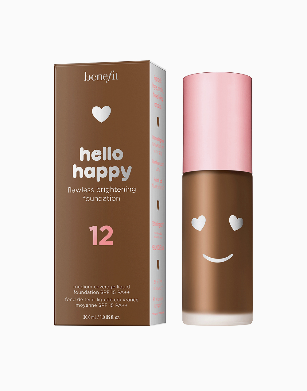 Hello Happy Flawless Liquid Foundation by Benefit | Shade 12