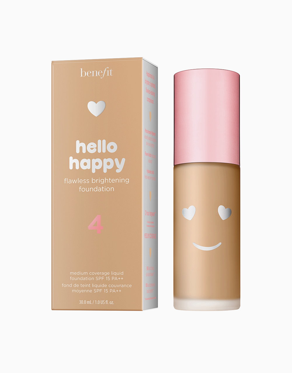 Hello Happy Flawless Liquid Foundation by Benefit | Shade 04
