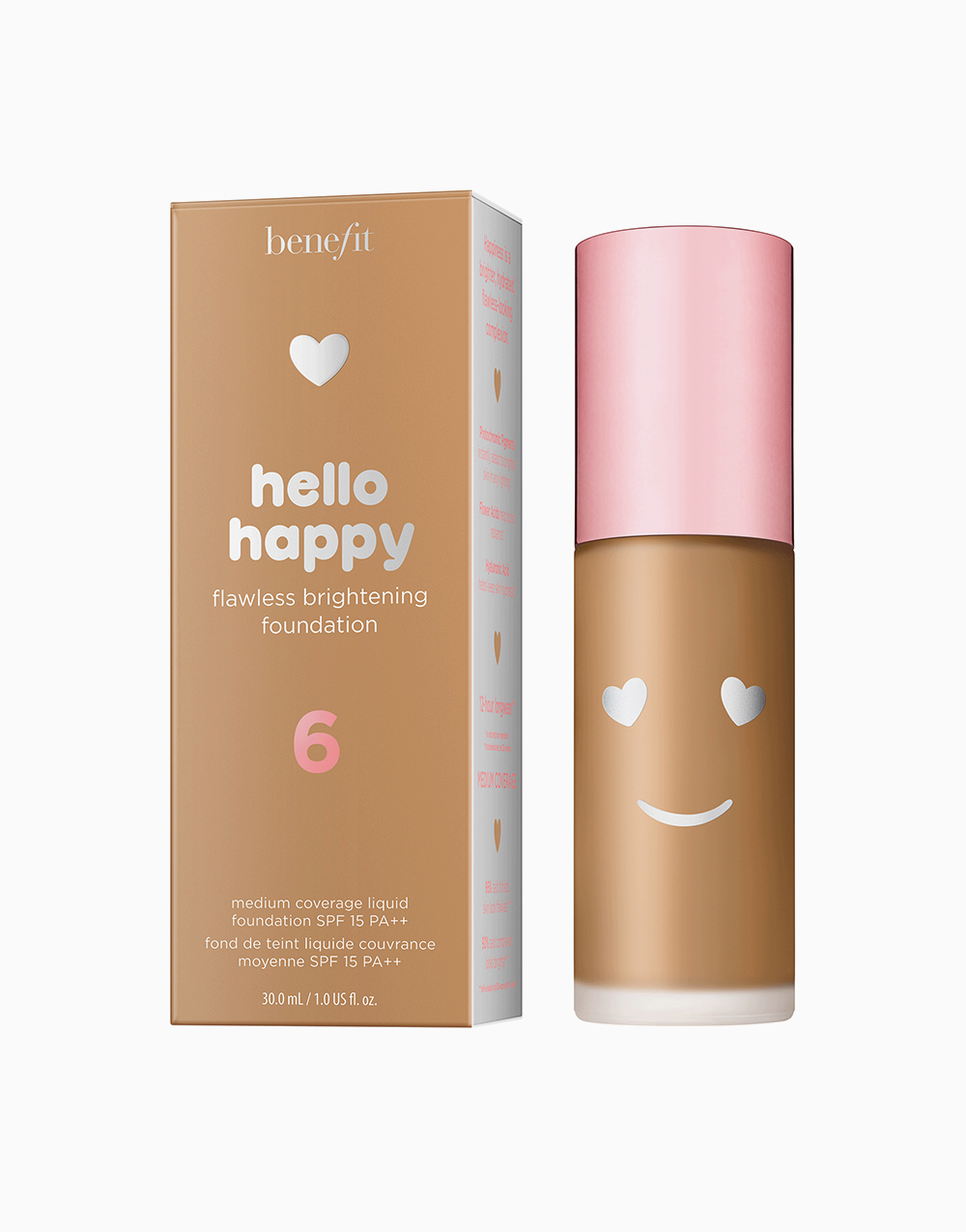 Hello Happy Flawless Liquid Foundation by Benefit | Shade 06