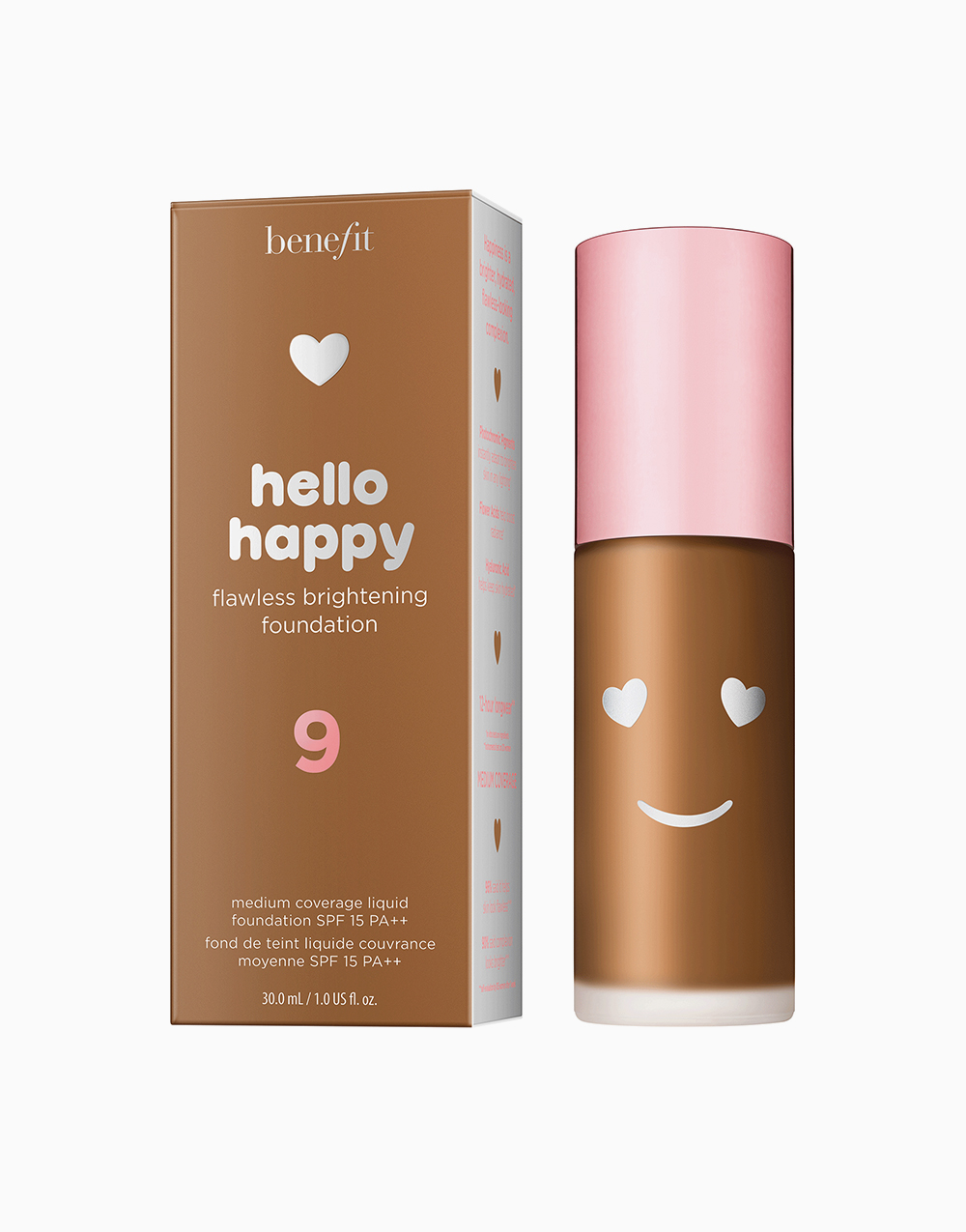 Hello Happy Flawless Liquid Foundation by Benefit | Shade 09