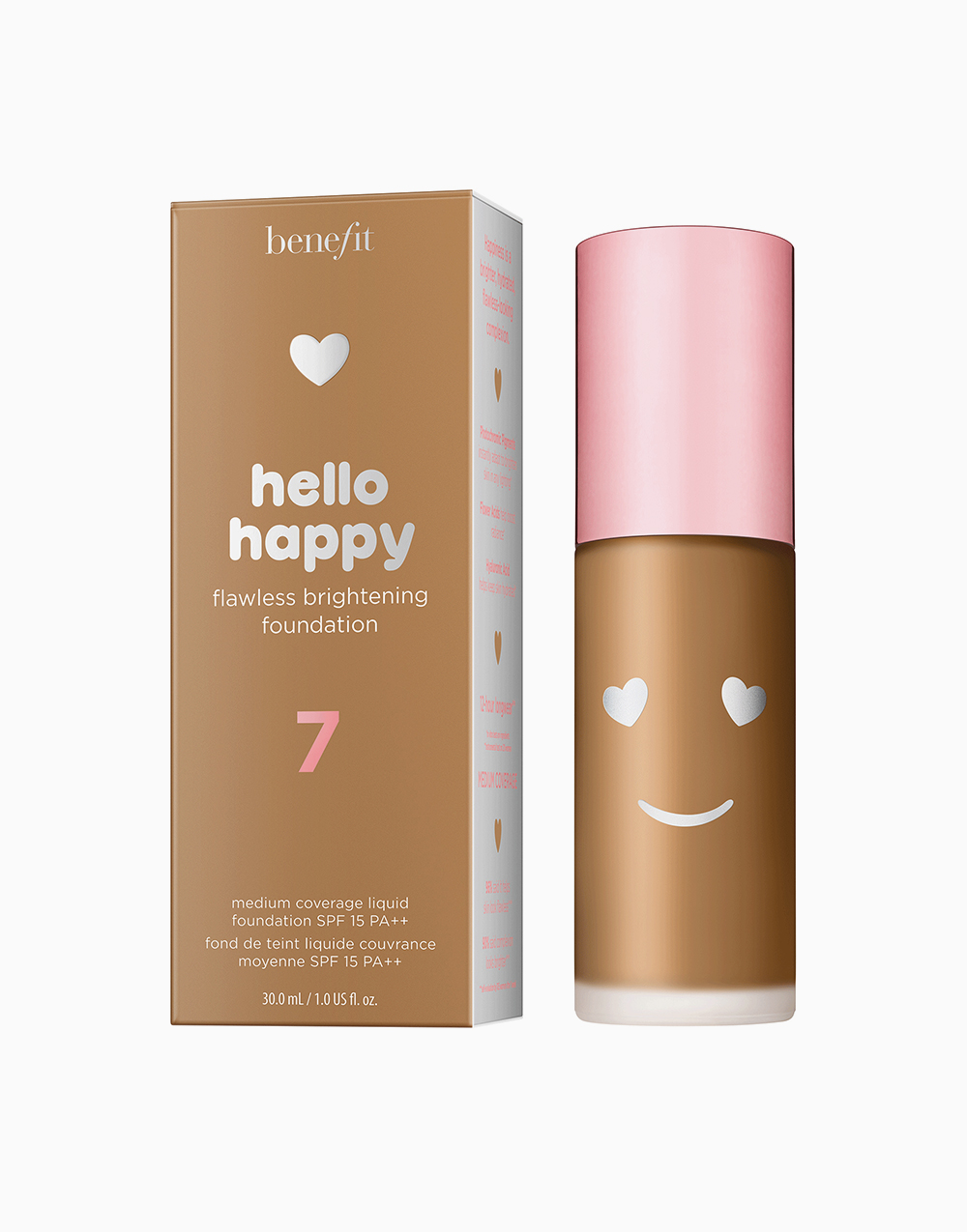 Hello Happy Flawless Liquid Foundation by Benefit | Shade 07