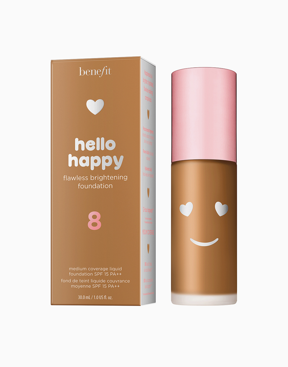 Hello Happy Flawless Liquid Foundation by Benefit | Shade 08