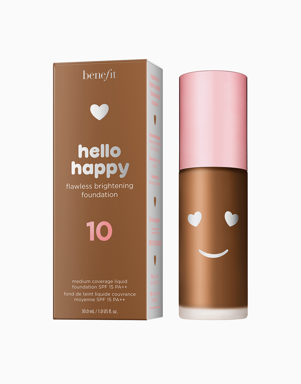 Hello Happy Flawless Liquid Foundation by Benefit | Shade 10