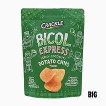 Bicol Express Potato Chips (140g) by Crackle Snacks