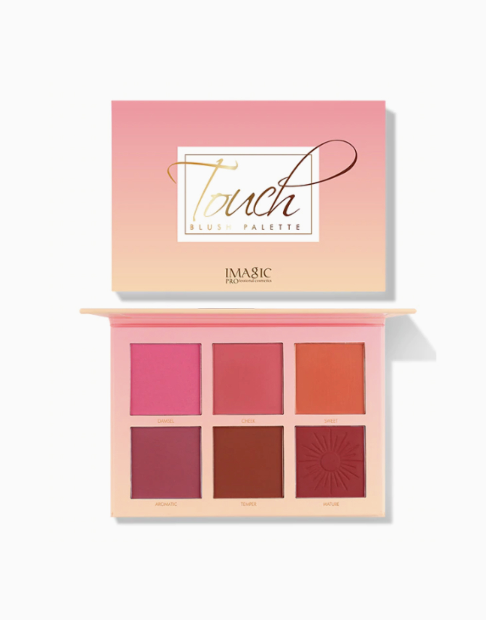 6-Shade Touch Blush Palette by Imagic