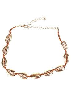 La Concha Shell Choker Necklace by Loukha