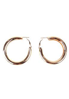 Bellagio Thick Hoop Earrings by Loukha