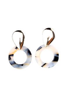 Aureolin Stud Earrings by Moxie PH