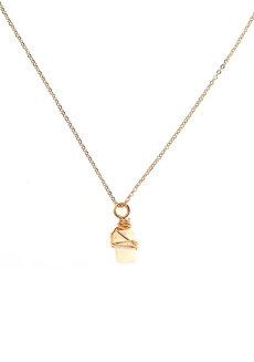 Opalite Gemstone Necklace by Made By KCA