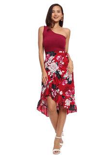 Leonor Ruffle Skirt by Chelsea