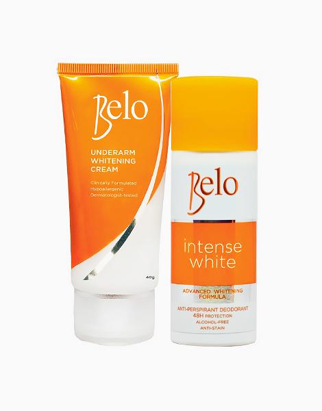 Underarm Whitening Cream (40g) + FREE Intense White Deo (40ml) by Belo