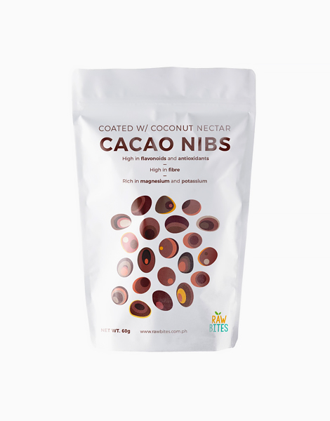 Raw Bites Cacao Nibs Coated with Coconut Nectar (60g) by Raw Bites