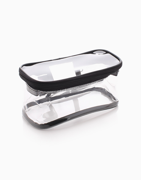 Folie Oblong Clear Pouch by Donna B