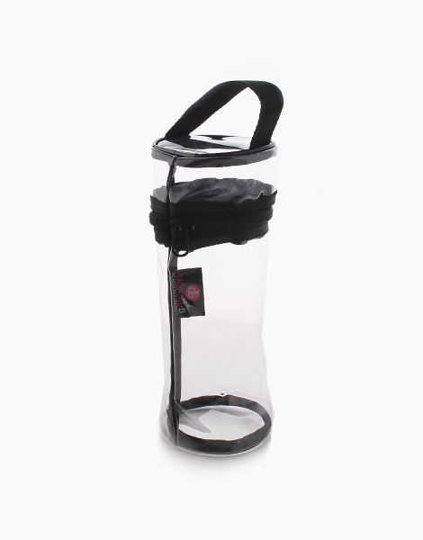 Cylinder New Clear Pouch by Donna B