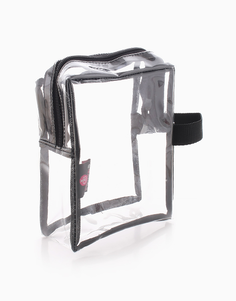 Folie Square Clear Pouch by Donna B