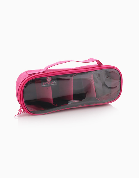 Bruler Small with Divider Pouch by Donna B | Pink