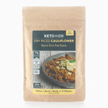 Seasoned Dry Riced Cauliflower - Risotto Style Four Cheese (114g) by Keto & Co