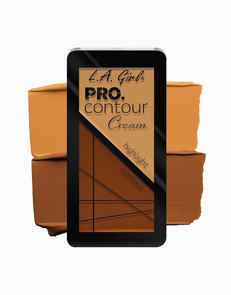 Pro Contour Cream by L.A. Girl   Medium Deep