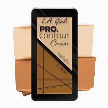 L.a. girl pro contour cream   fair