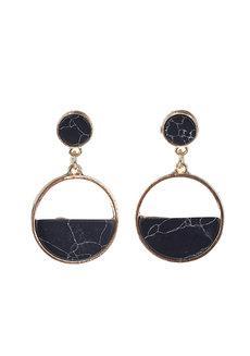 Isabelline Marble Earrings by Moxie PH