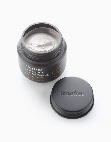 Super Volcanic Pore Clay Mask 2X by Innisfree
