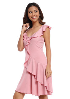 Palmira Flounce Dress by Chelsea