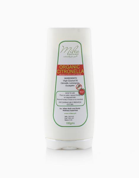 Organic Citronella Mosquito Repellent Lotion (100g) by Milea