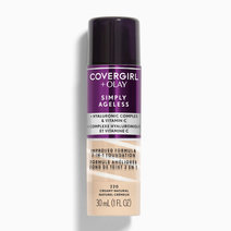 Covergirl simply ageless   olay liquid foundation creamy natural