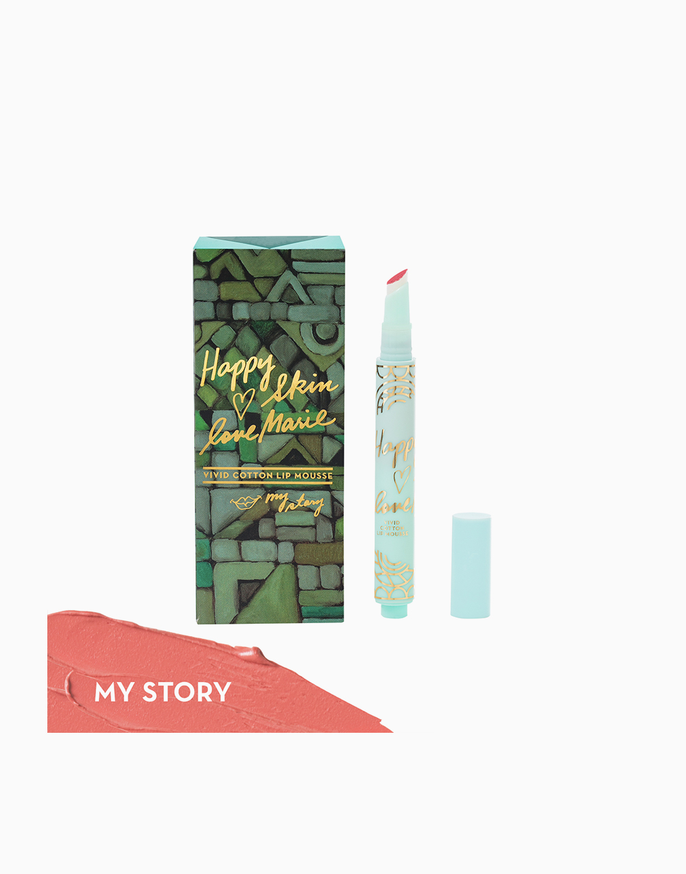 Happy Skin x Love Marie Vivid Cotton Lip Mousse by Happy Skin   My Story