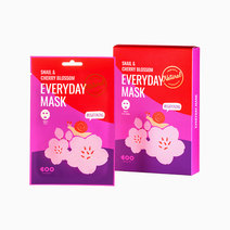 Dearboo snail   cherry blossom everyday mask 41