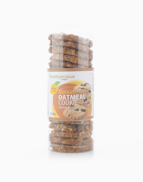 Raisin Oatmeal Cookie with Mango Flour (179g) by Healthylicious Delights