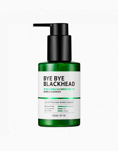 Bye Bye Blackhead 30Days Miracle Green Tea Tox Bubble Cleanser by Some By Mi