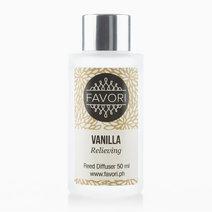 Vanilla 50ml Regular Reed Diffuser by FAVORI