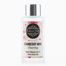 Cranberry Wine 50ml Regular Reed Diffuser by FAVORI
